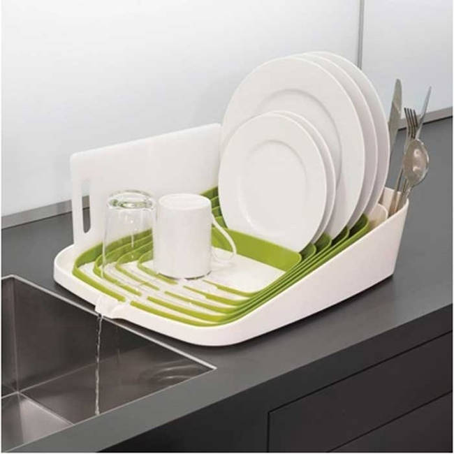 Perfectly Draining Dish Rack