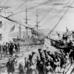 There were actually 2 Boston Tea Parties. The famous one carried out by the Sons of Liberty in 1773, and a year later in 1774 by commoners of the colonies. It cost the British a load of money too, the modern equivalent of  million.