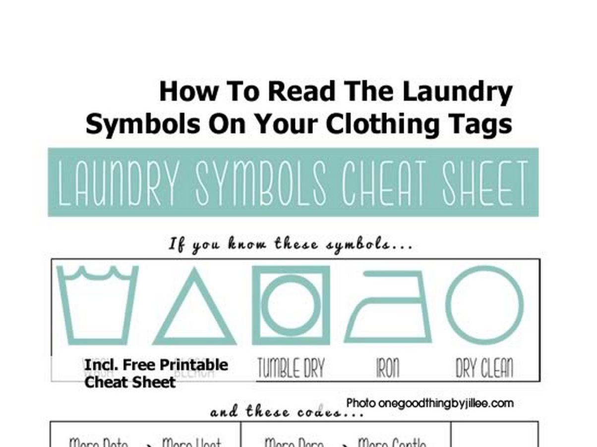 How To Read The Laundry Symbols On Your Clothing Tags Papersnack