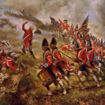 About 20% of the colonists opposed the revolution and fought alongside the British army.