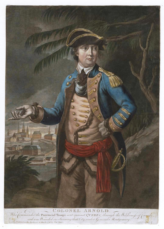 Benedict Arnold was actually one of the best generals in the American army before becoming a