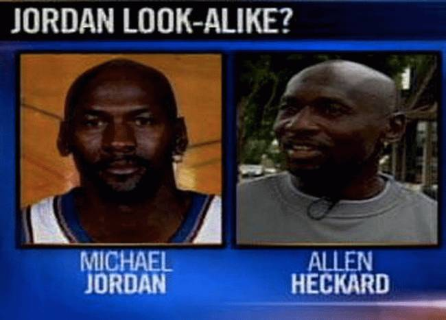 Suing Because You Look Like Michael Jordan