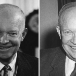 Dwight D. Eisenhower: 1953 and 1961.