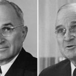Harry S. Truman: 1945 and 1953.
