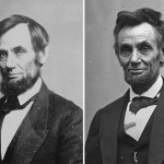 Abraham Lincoln: 1861 and 1865.