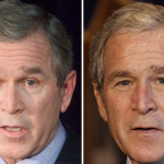 George W. Bush: 2001 and 2008.
