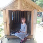 Hailey, now nine years old, is tackling homelessness in her town with a two-pronged approach. She decided to build mobile shelters and begin gardening to help house and feed the people who need it most.