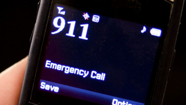 Most cell phones can dial 911 without a SIM card or service.