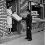 After placing their orders through the Vis-O-Matic, all people had to do was wait for packages to be delivered to their doors.