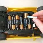 Never break a nail again when you have to remove a battery from a snug spot -- just grab a magnet.