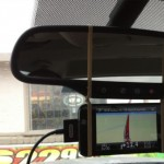 Stop taking your eyes off the road to look at your GPS when you use rubber bands.