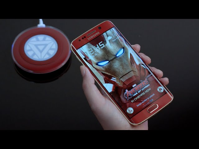 Samsung Unveils Iron Man Themed Galaxy S6