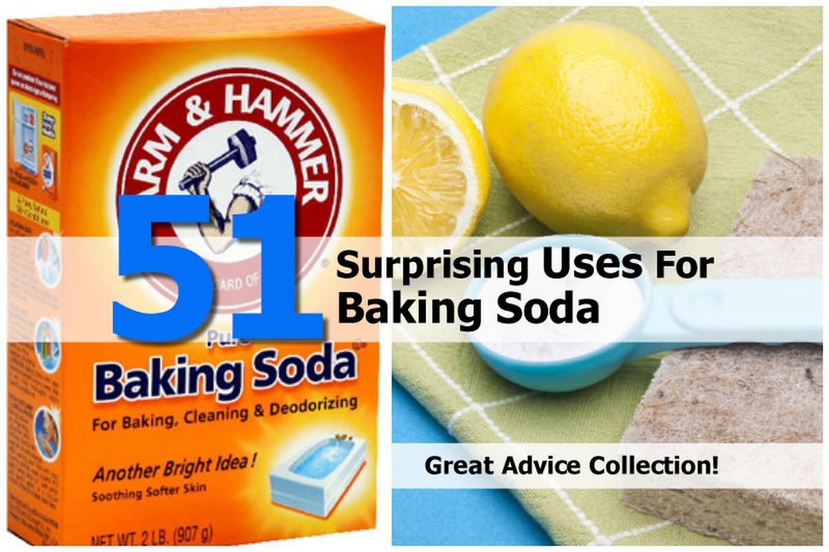 51 amazing uses for baking soda 15 awesome uses for baking soda  it really is amazing how many uses baking soda has jenifer — october 29, 2013 @ 6:28  51 pm reply i use it in the refrigerator to absorb odors kim henrichs — november 2, 2013 @ 8:02 pm reply i mix it with a little hydrogen peroxide and toothpaste for an excellent whitener.