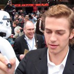 Hayden Christensen during the premiere of Star Wars Episode III in May 2005 in Berlin. Papersnack.com