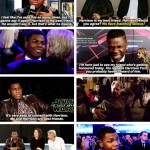 John Boyega HArrison Ford Best Friends papersnack.com
