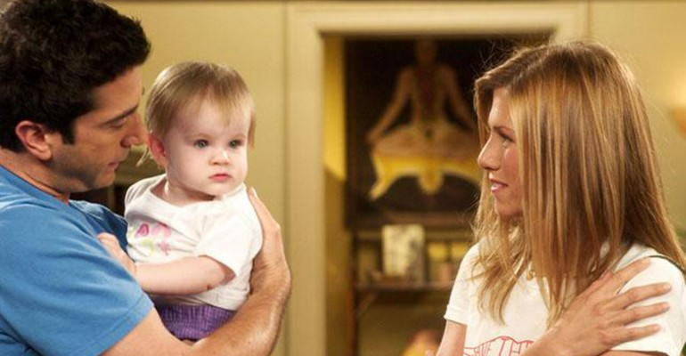 Baby emma from Friends NBC