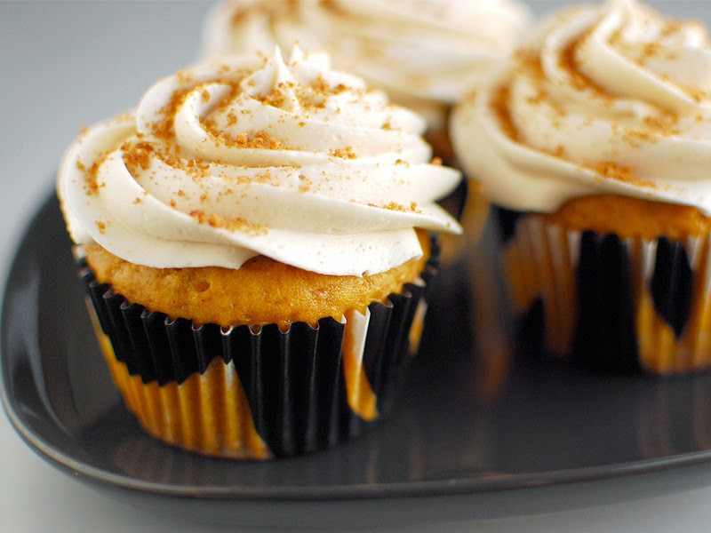 1. Pumpkin Cupcakes - Top 10 Pumpkin Recipes to Try This Fall