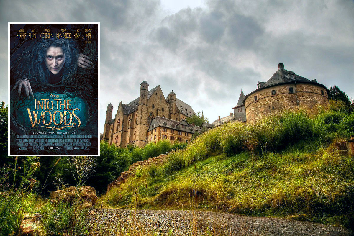 3. Into the Woods - Marburg, Germany, a stop near  Fairy-Tale Road