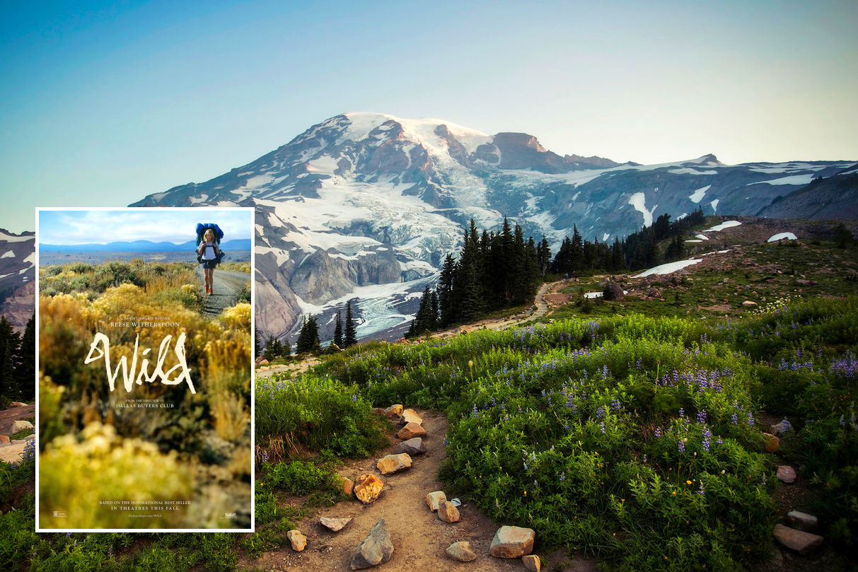 4. Wild: 2,650 miles long trail which stretches from the Mexican to Canadian border