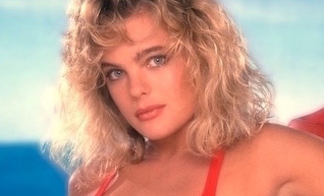 Erika Eleniak in Baywatch, 1989. 1989  1989 Mario Casilli