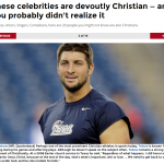 Tim Tebow Christian athlete papersnack.com
