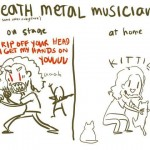 Death Metal and Kittens papersnack.com