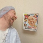 Pope laughing at guy in hospital papersnack.com
