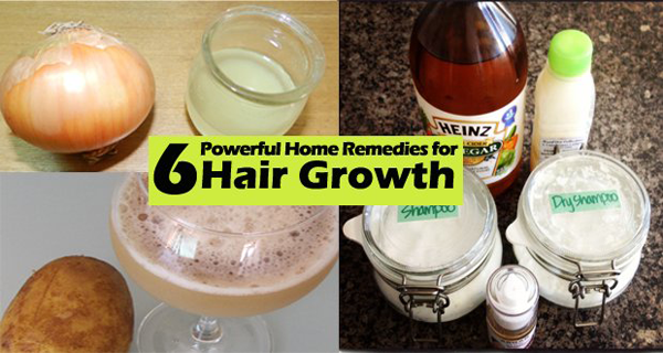 6 Top Remedies for Hair Growth