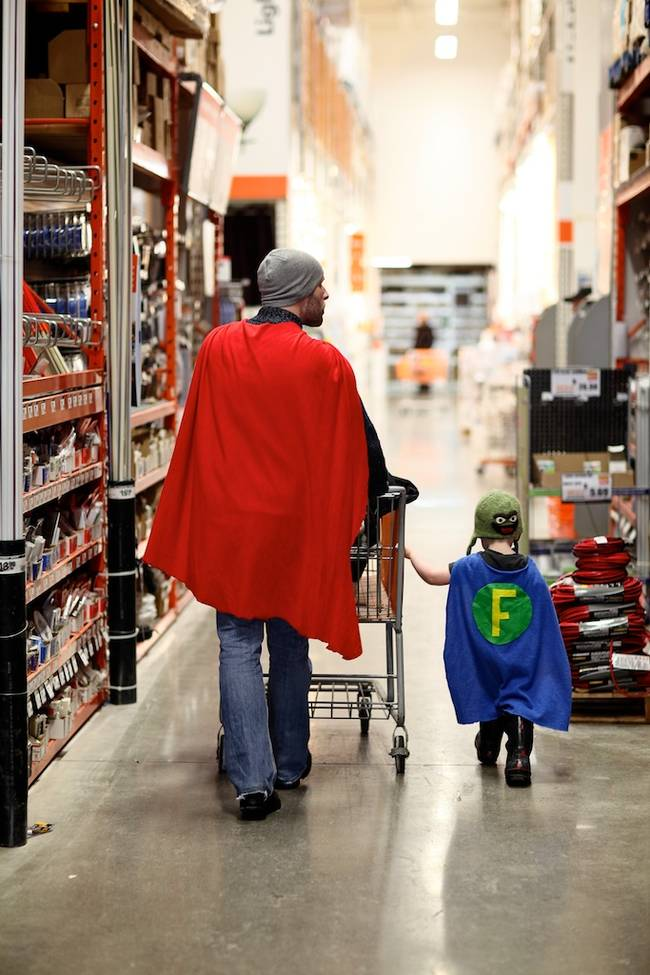 Putting the super in supermarket.