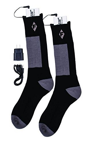 "Good news! There are also <a href=""http://www.amazon.com/Flambeau-Mens-Heated-Socks-Large/dp/B010351WJ4/?_encoding=UTF8&tag=vira0d-20"" target=""_blank"">heated socks</a>!"