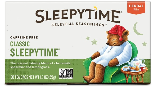 "A little <a href=""http://www.amazon.com/Celestial-Seasonings-Sleepytime-Count-Pack/dp/B000E65OF6/?_encoding=UTF8&tag=vira0d-20"" target=""_blank"">calming tea</a> will do the trick!"