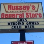 I live in Maine and this is our General Store.