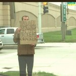 When panhandlers are out of options