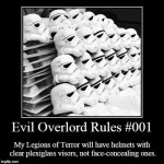 Evil Overlord Guidelines