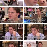 Jim Halpert being awesome as always