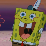 some spongebob reaction image