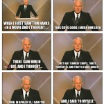 Steve Martin on Tom Hanks